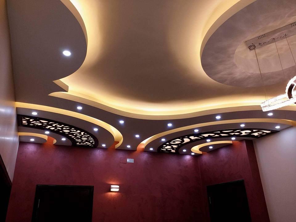 %2BCNC%2BFalse%2BCeiling%2BDesigns%2BIdeas%2B%2B%252816%2529 22 Contemporary Modern CNC False Gypsum Ceiling Decorating Ideas Interior