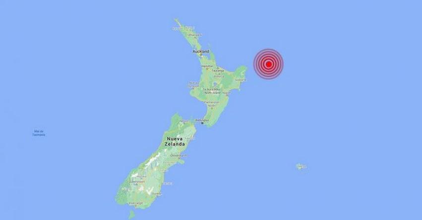 TERREMOTO EN NUEVA ZELANDA: Alerta de Tsunami tras nuevo Sismo de Magnitud 8.0 (Jueves 4 Marzo 2021) USGS - www.earthquake.usgs.gov