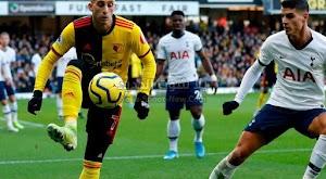 توتنهام يسقط في فخ التعادل السلبي امام واتفورد في الجولة 23 من الدوري الانجليزي