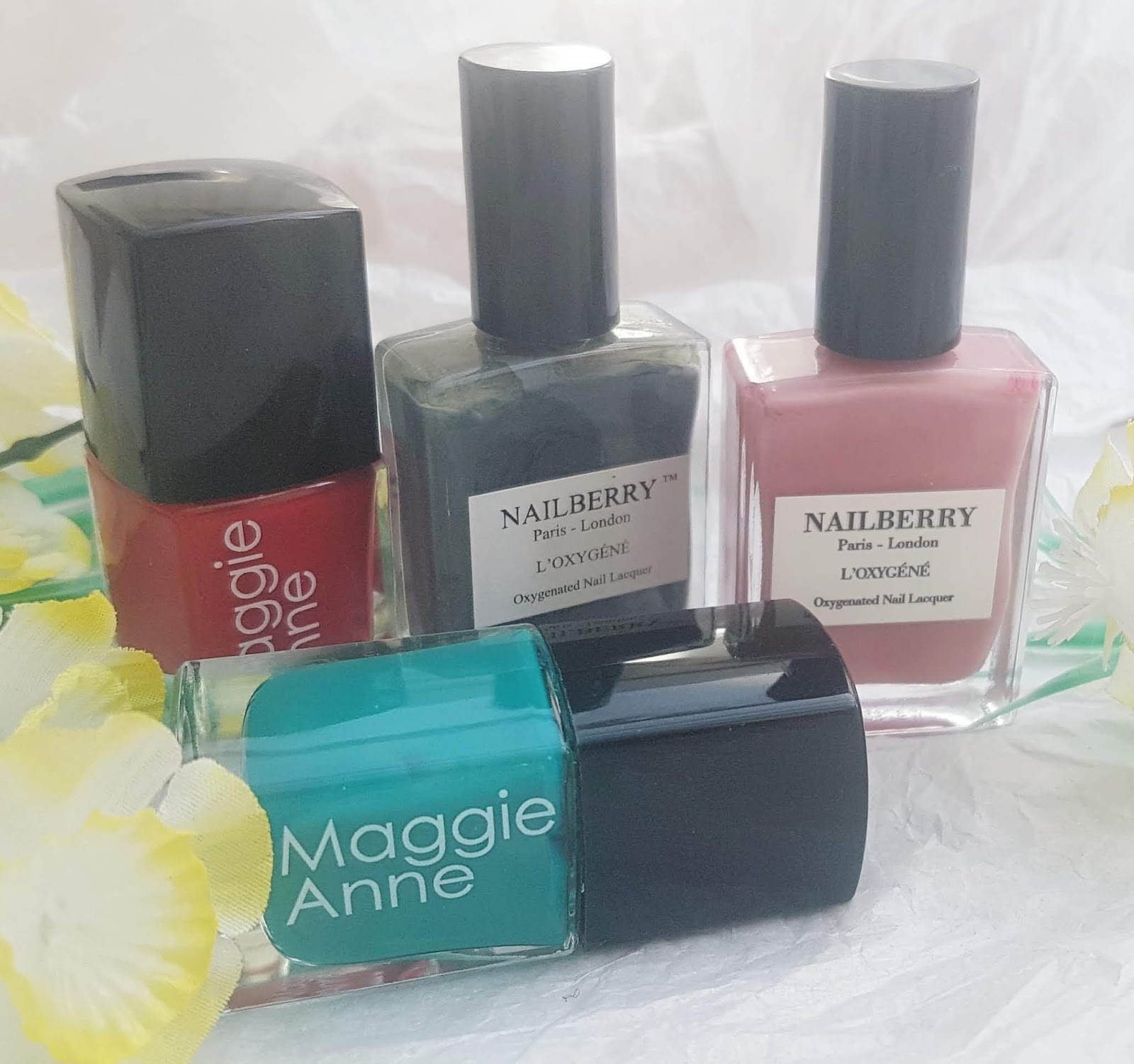 Maggie Anne and Nailberry Nail Polish - Best Makeup of 2019