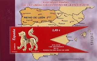 1100 ANIVERSARIO DE LA FUNDACIÓN DEL REINO DE LEÓN