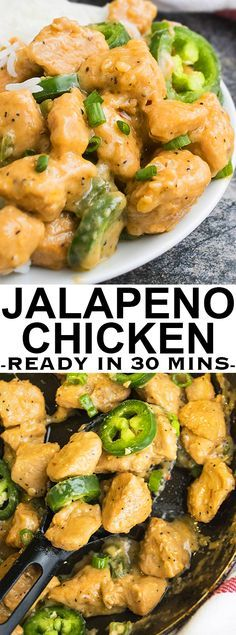 JALAPENO CHICKEN (EASY 30 MINUTE MEAL)