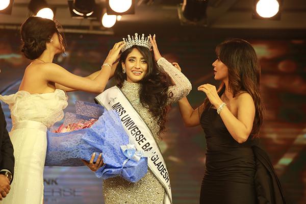 Mithila won the title of Miss Universe Bangladesh-2020