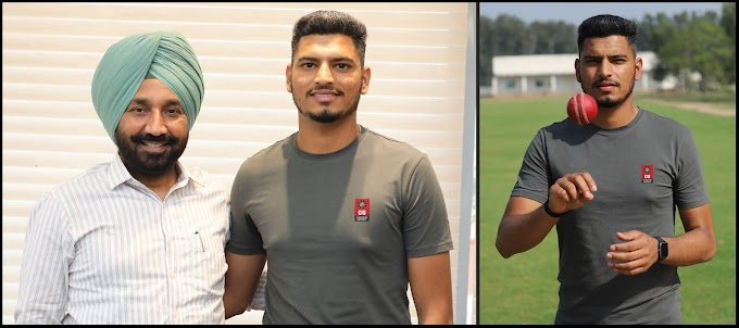 Chandigarh university fast bowler Vaibhav Arora selected by Kolkata Knight Riders for IPL 2021