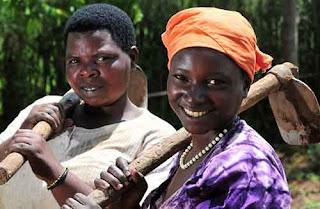 Women farmers in South Africa