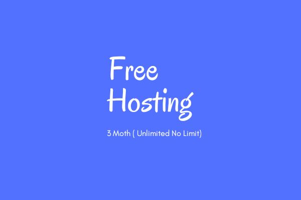 Dapatkan Hosting Premium 3 Bulan Gratis