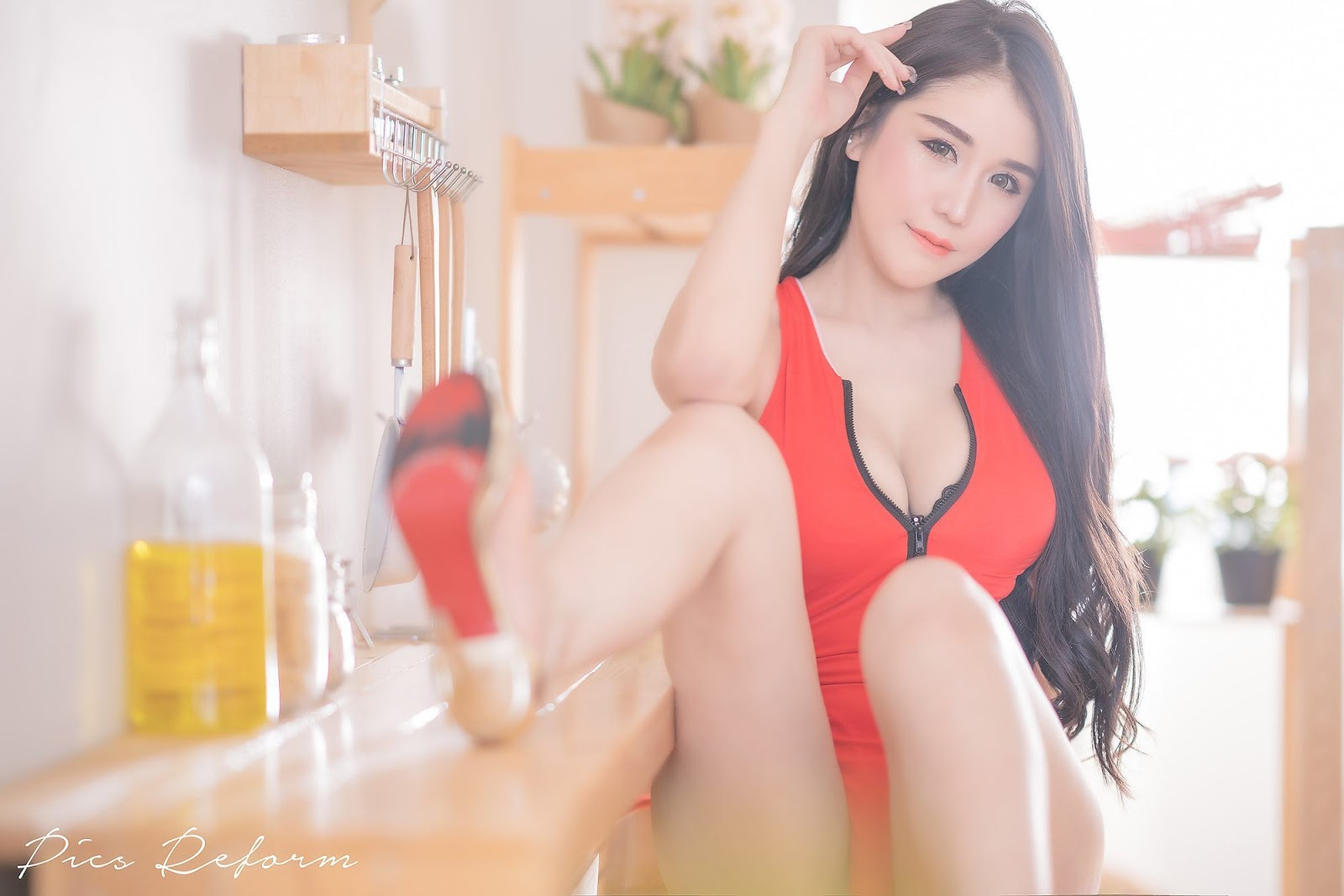 Thailand Sexy Model - Prapatsara Kongpanus - Red Army - TruePic.net - Picture 20