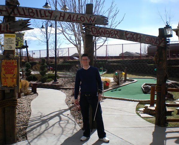 Mini Golf at Boondocks Fun Center in Northglenn, Colorado