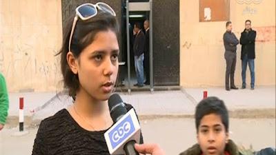 ابنة الشهيدة نرمين صادق