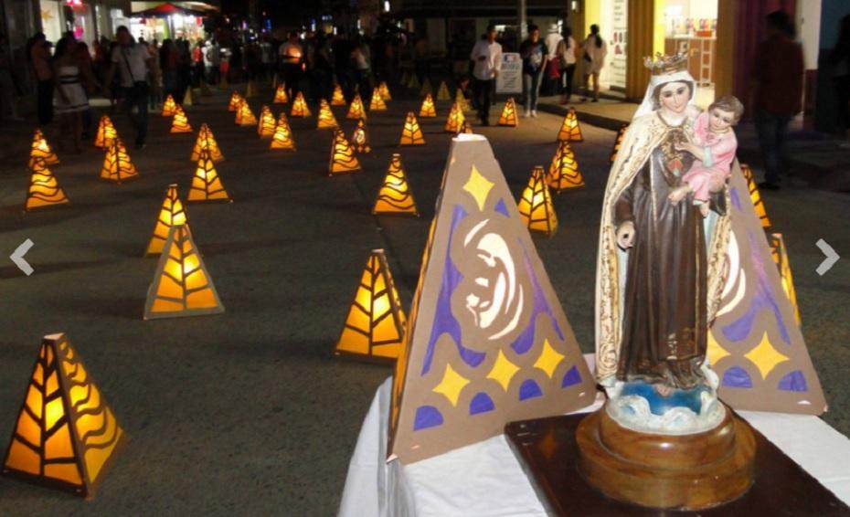 La tradicional noche de las velitas y la fiesta en honor a la Virgen de la Inmaculada Concepción son el motivo principal