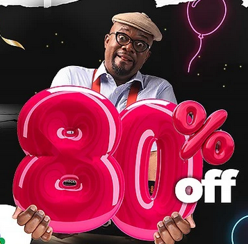 Konga Yakata is about to go down, 80% discounts on all items