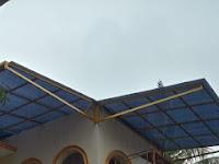 Pemasangan Kanopi di Giri Loka BSD Tangerang Selatan