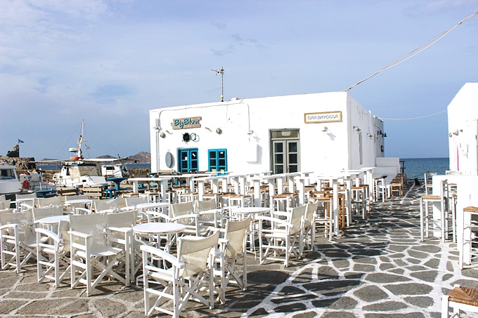 Naoussa restaurants and bars in Paros