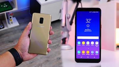 Cara Hard Reset Samsung Galaxy A8 (2018)