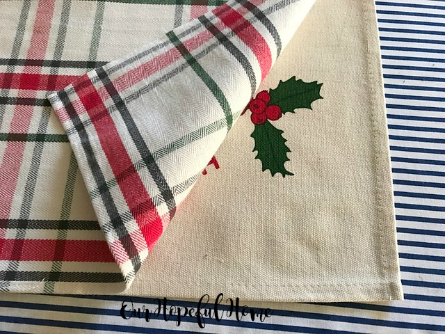 Believe pillow Have Yourself A Merry Little Christmas pillow, plaid placemat Target placemat
