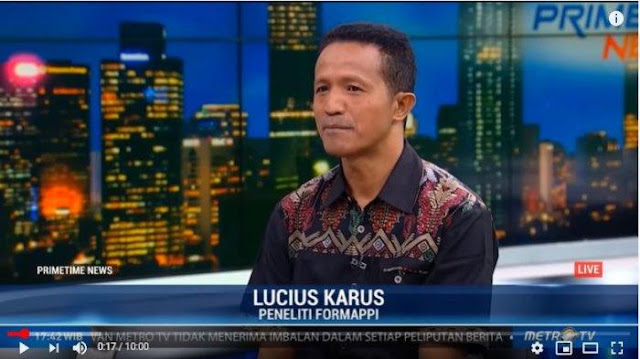 Formappi Nilai Jokowi Jadikan DPR seperti Macan Ompong dan Tukang Stempel Pemerintah