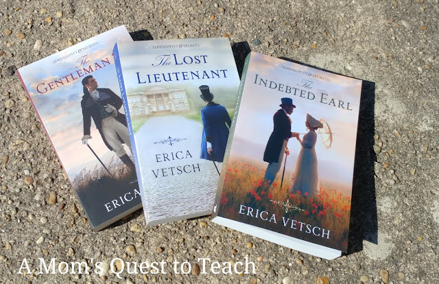 The three books in the Serendipity & Secrets series