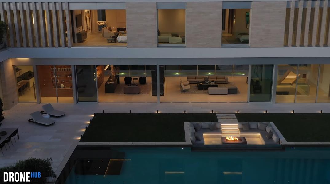 76 Photos vs. Tour 642 Perugia Way, Los Angeles, CA Ultra Luxury Modern Mansion Interior Design