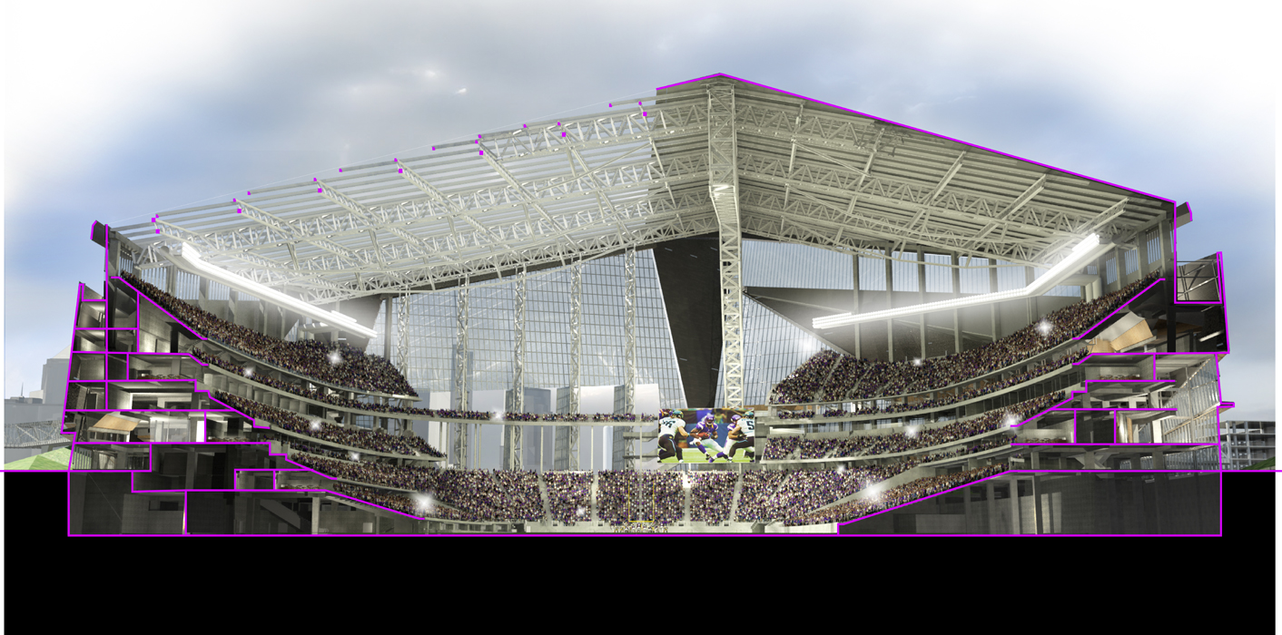 Construction Accident At U S Bank Stadium Claims One