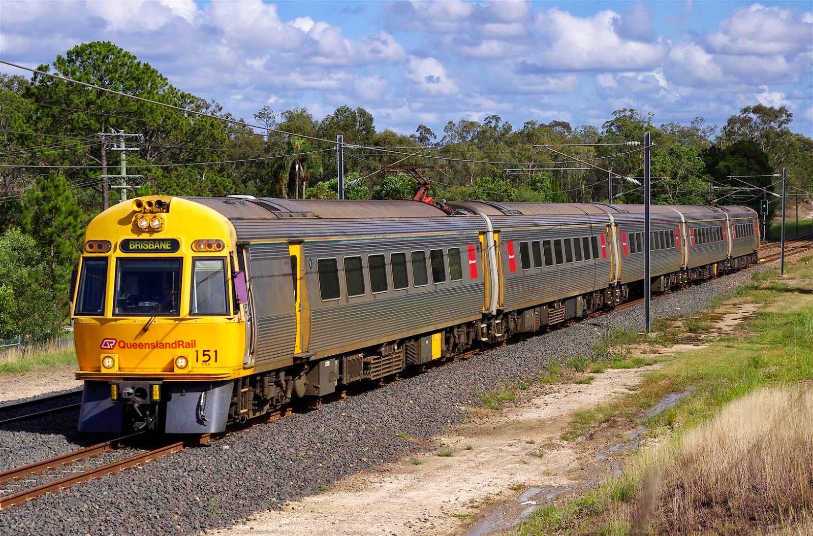 Rollingstock News Queensland Rail EMUs