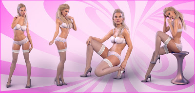 Z Eye Candy - Poses and Expressions for Genesis 3 Female