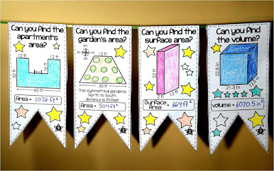 math pennants on Teachers pay Teachers