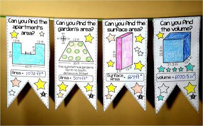 math pennants on Teachers pay Teachers