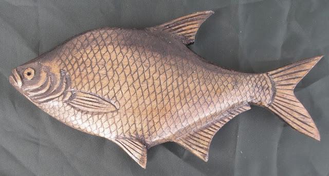 деревянные рыбы России - лещ