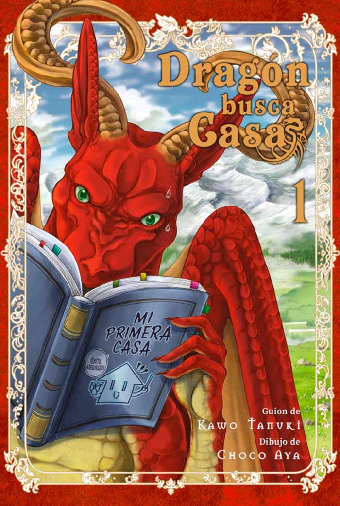 Dragón busca casa (Dragon, Ie wo Kau) manga - Kawo Tanuki y Choko Aya - Editorial Hidra