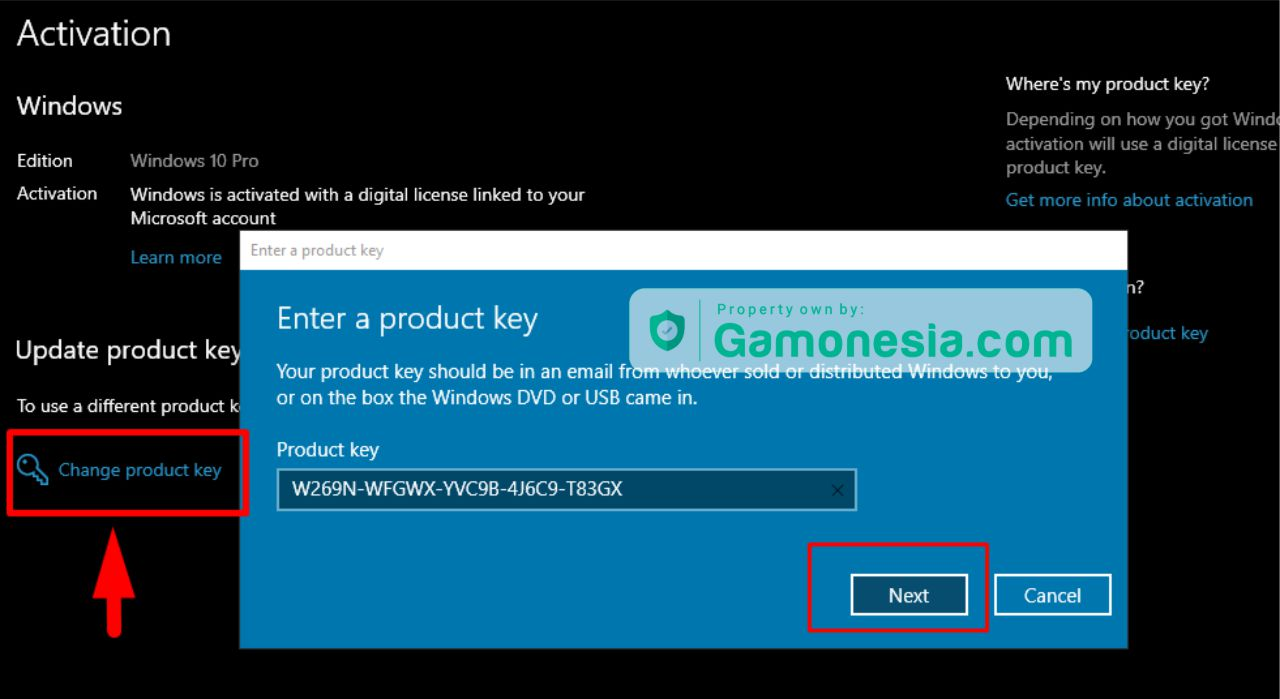 win 10 product key
