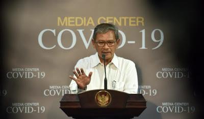Achmad Yurianto Menyampaikan Info Covid-19