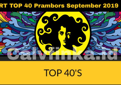 CHART TOP 40 Prambors September 2019