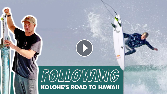 The San Clemente Kid Prepares For His Return To The North Shore FOLLOWING Ep1 Kolohe Andino