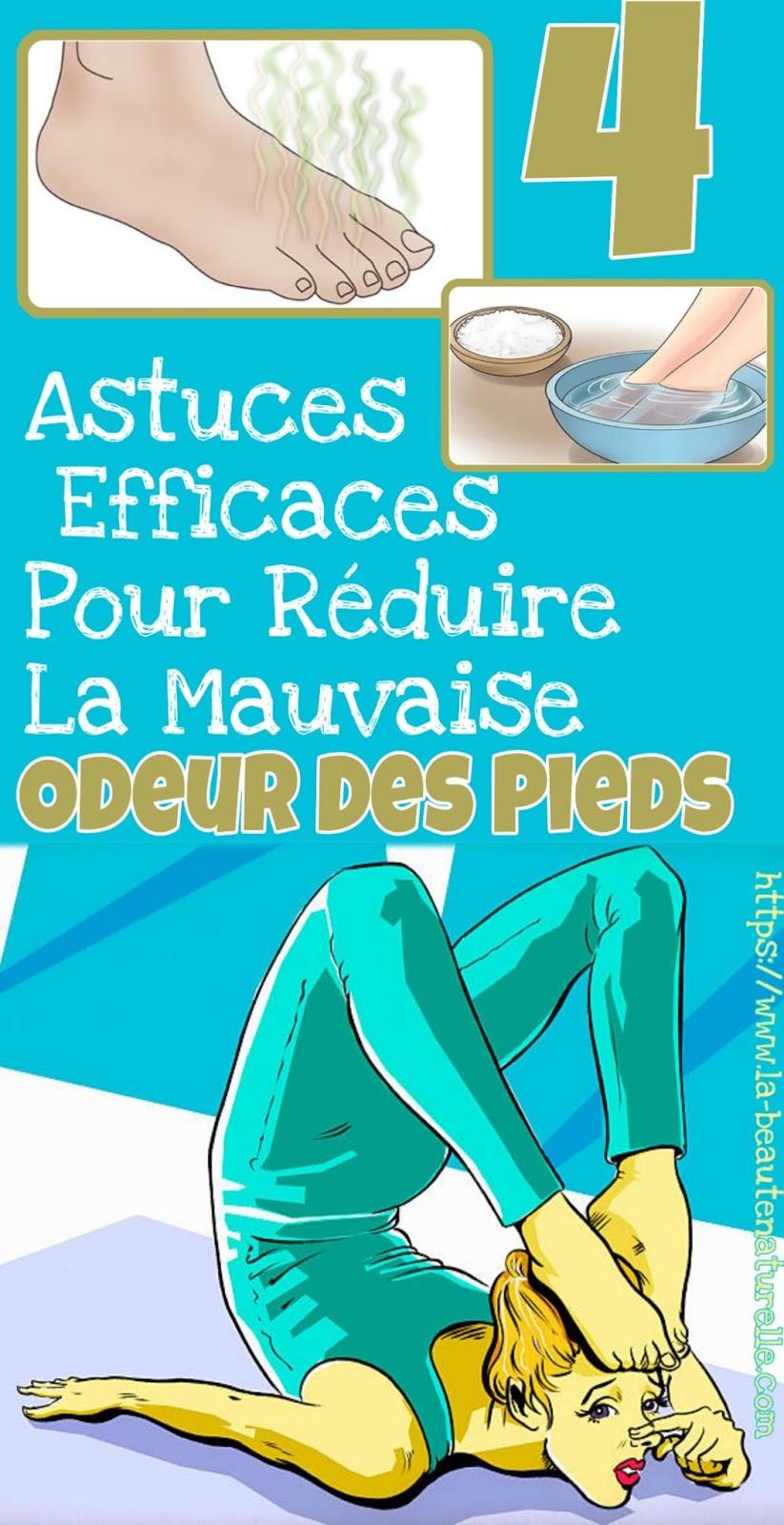 4 Astuces Efficaces Pour Réduire La Mauvaise Odeur Des Pieds