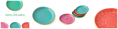 Colourful Mandala Ring Dishes