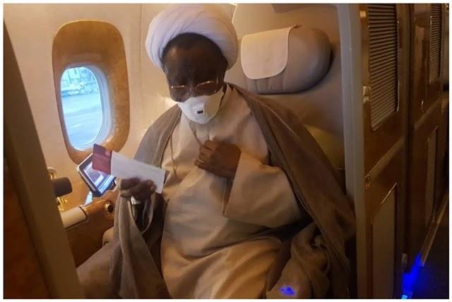 BREAKING News: El-Zakzaky Lands In Abuja, Taken Into DSS Custody