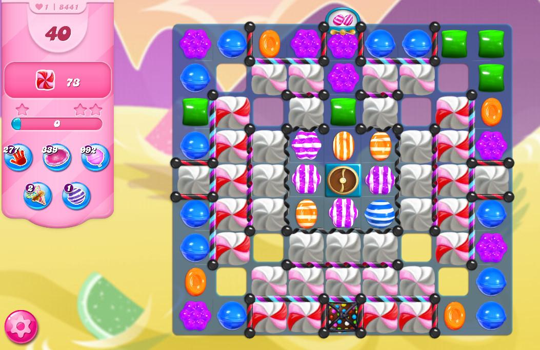 Candy Crush Saga level 8441