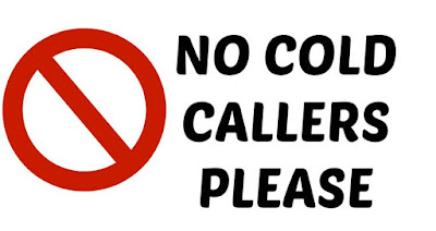 Free Downloadable Printable Door Sign No Cold Callers