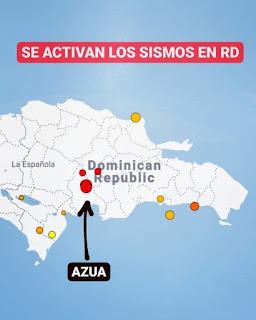 Se registró temblor de 4.2 en Azua
