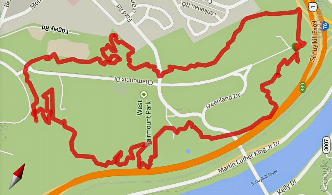 Hikeyhikey Hiking Philadelphia West Fairmount Park