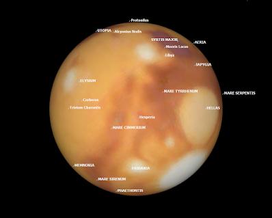 Mars in SkyTools 3 Pro
