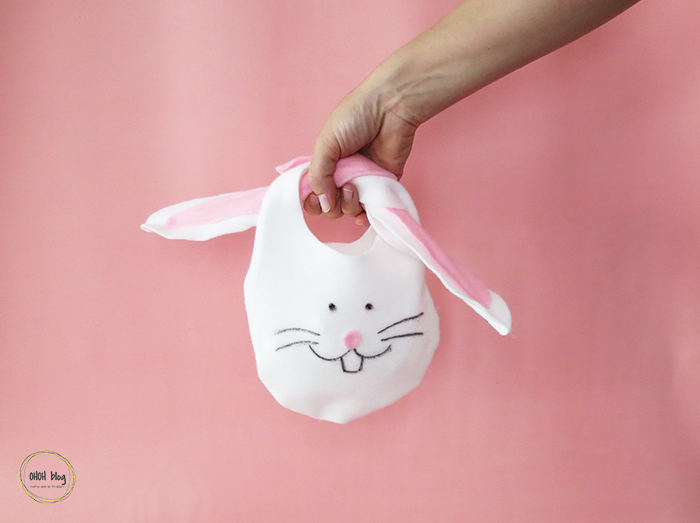 How to make an Easter bunny bag – no sewing
