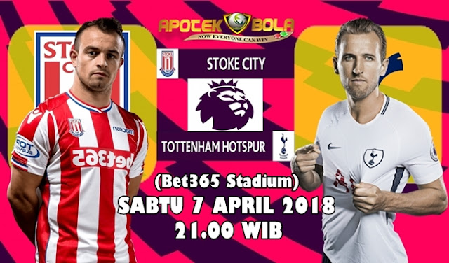 Prediksi Stoke City vs Tottenham 7 April 2018