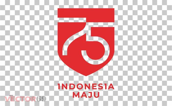 Logo Resmi HUT RI ke-75 Tahun 2020 - Download Vector File PNG (Portable Network Graphics)