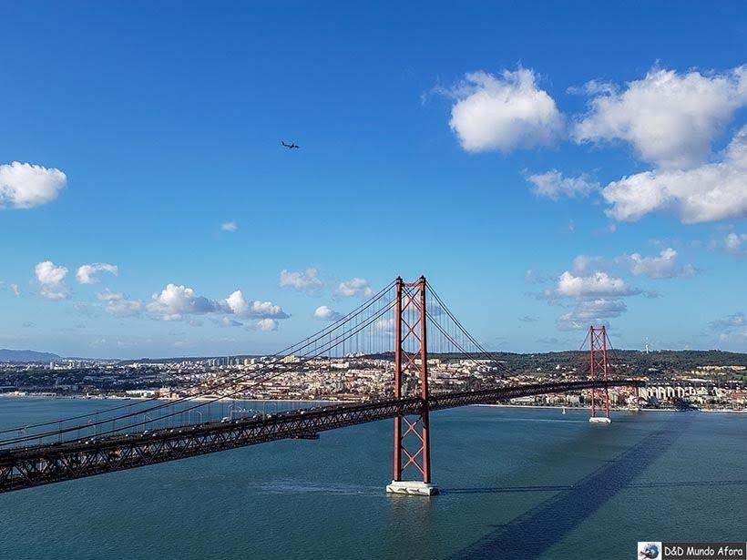 Ponte 25 de Abril - o que  fazer em Lisboa