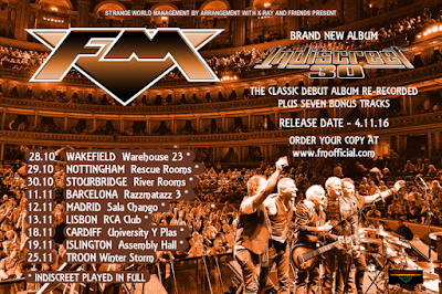 FM - Indiscreet 30 - tour dates - poster