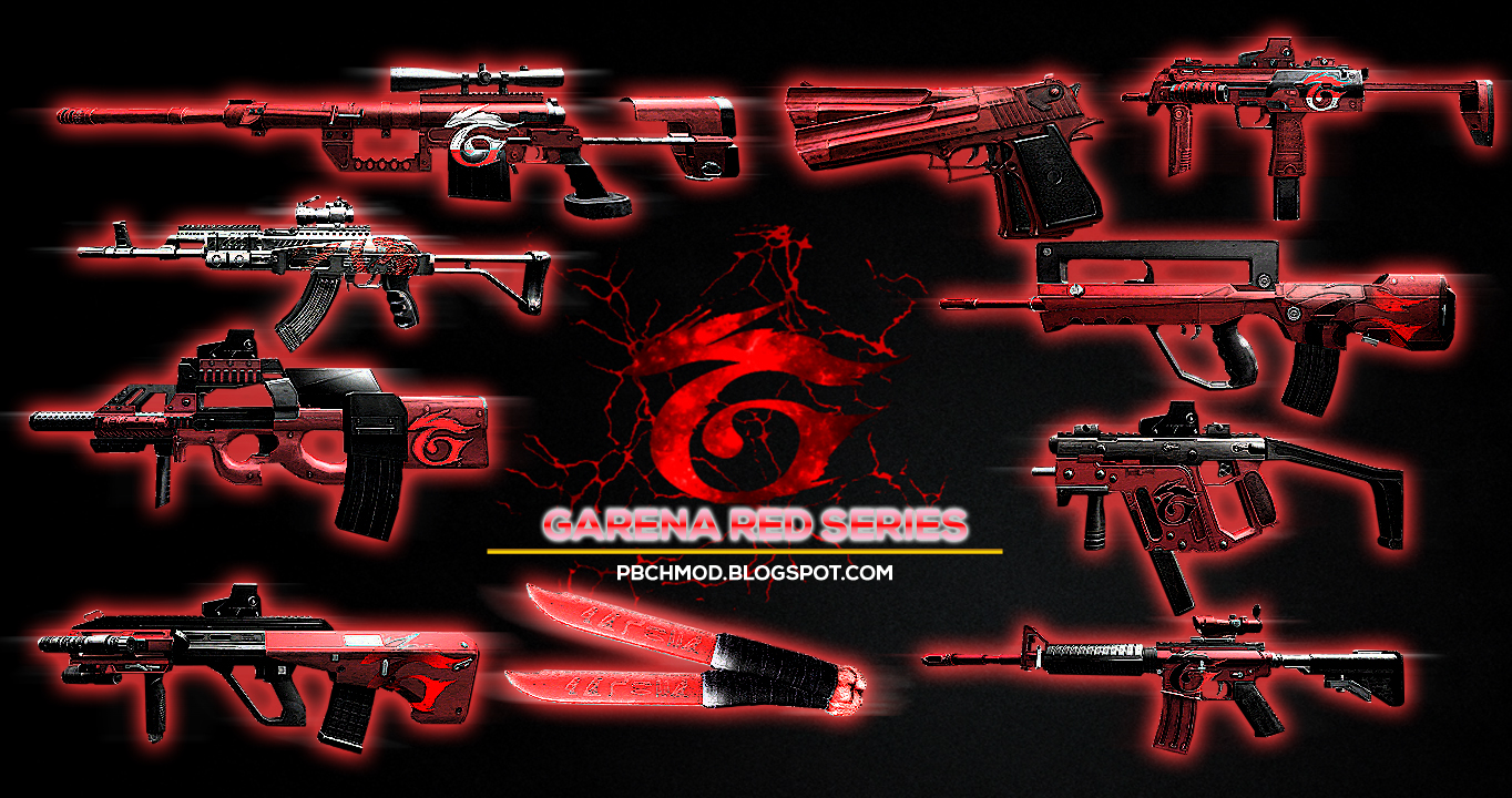 GRS/Garena Red Series Pack - Point Blank Channel Mod's Blogger