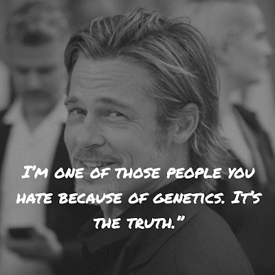 Top Brad Pitt Inspirational Quote about truth