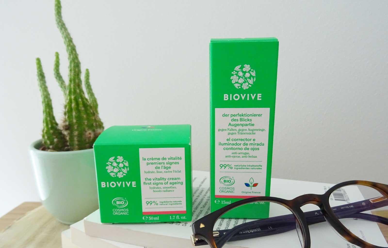perfecteur de regard crème vitalité Biovive
