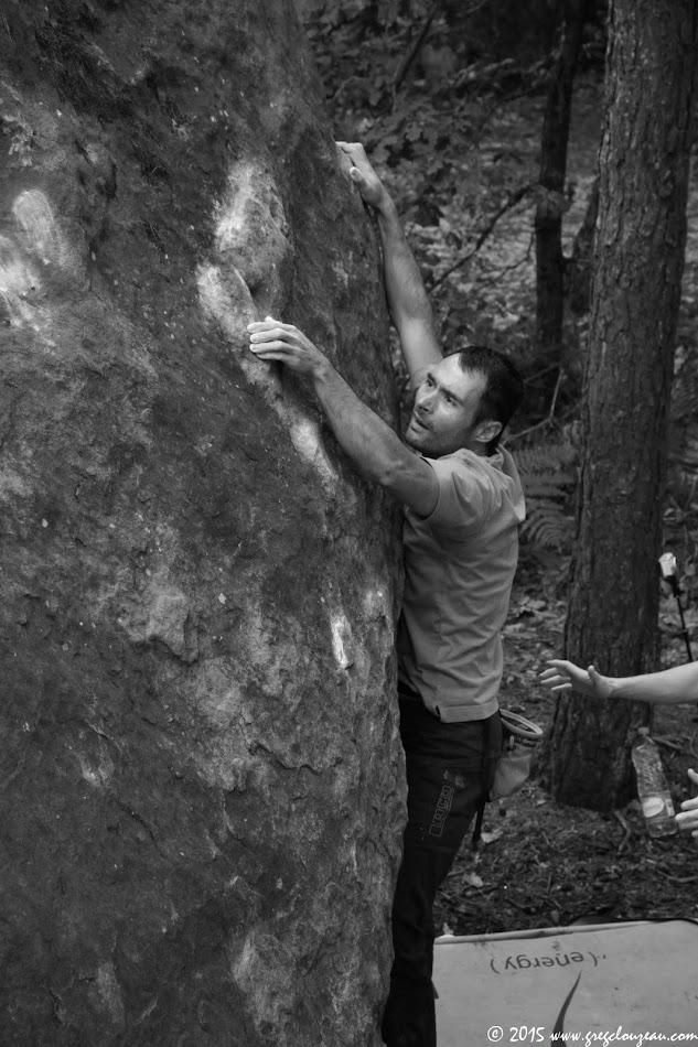 Nico s'essaye à Grandeur nature, 10 rouge de la Ségognole, Trois Pignons, (C) 2015 Greg Clouzeau